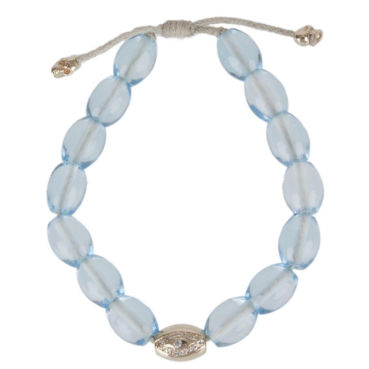 Hirshleifers - Luis Morais  - Eye Drum Bead Bracelet (Smokey Quartz), $1,775.00 (http://www.hirshleifers.com/etc/jewelry/fine-jewelry/bracelets/luis-morais-eye-drum-bead-bracelet-smokey-quartz/)