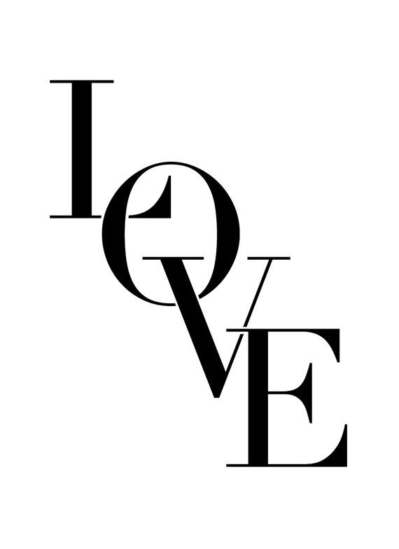 LOVE Valentine's Day Card on Etsy, $3.00