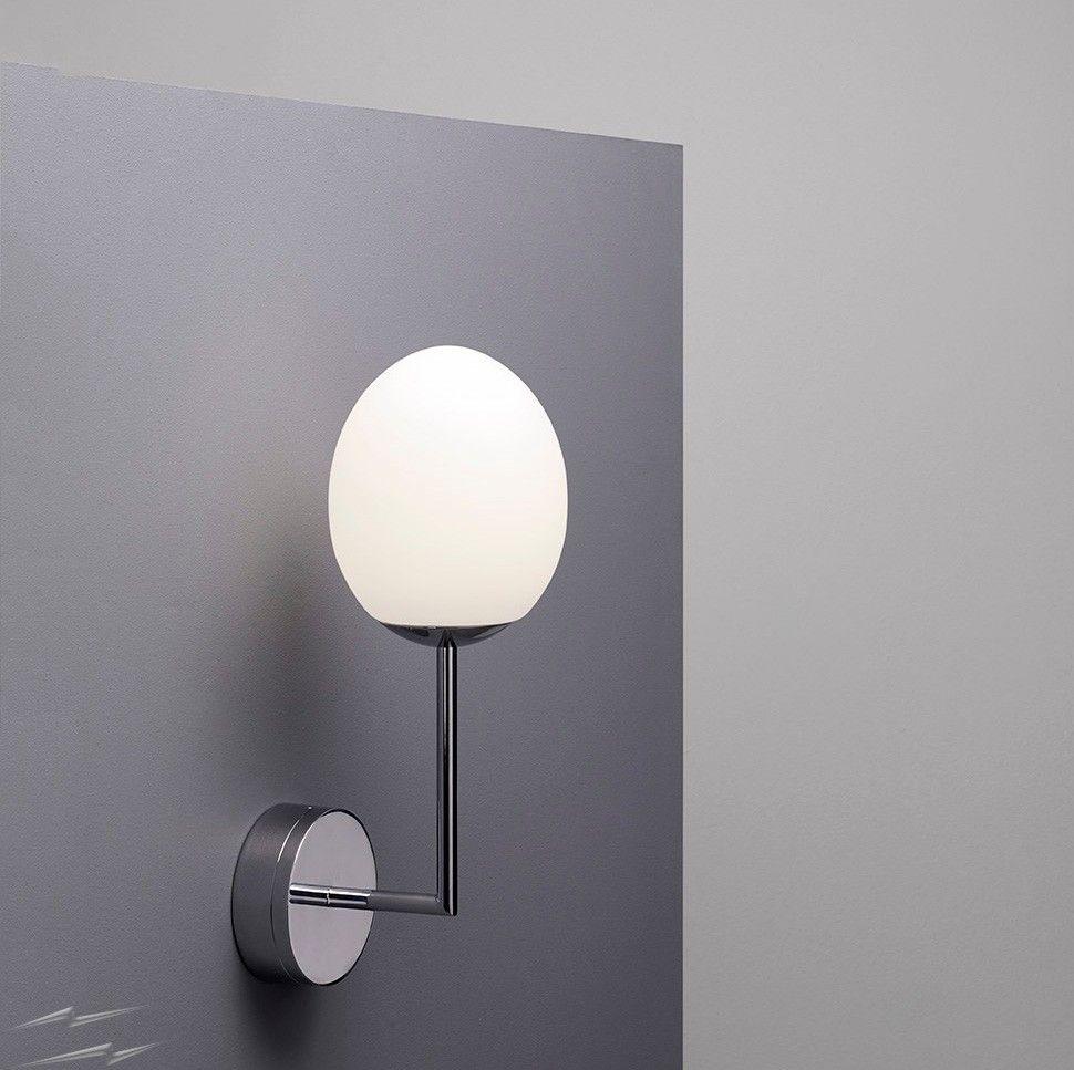 Kiwi Led Bathroom Wall Light In Polished Chrome 7 2w 2700k Led Light Ip44 Astro 1390003 Wall Lights Bathroom Wall Lights Polished Chrome