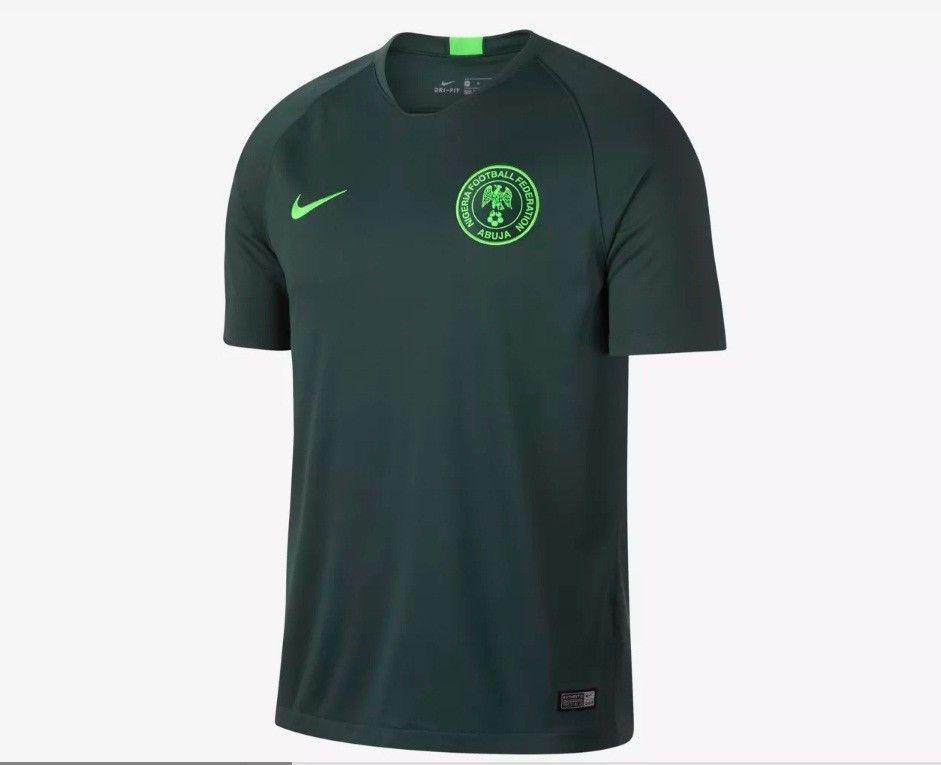 Nigeria Away World Cup 2018 Men Soccer Jersey Football Shirt Shirts Football Shirts Mens Tops