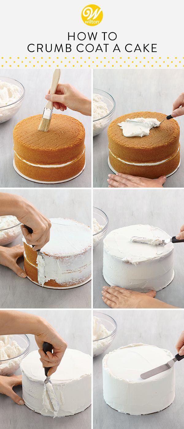 Crumb Coating 101 - How to Crumb Coat a Cake | Wilton