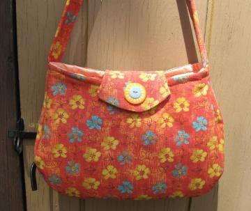 SHOLDER BAG Pretty Floral by ByFreddismom for $14.41
