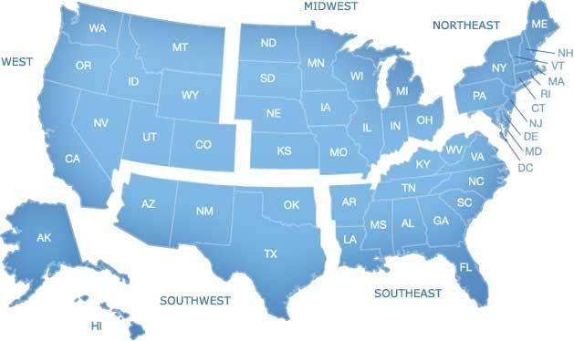 northwest region states | American Society of Landscape ...