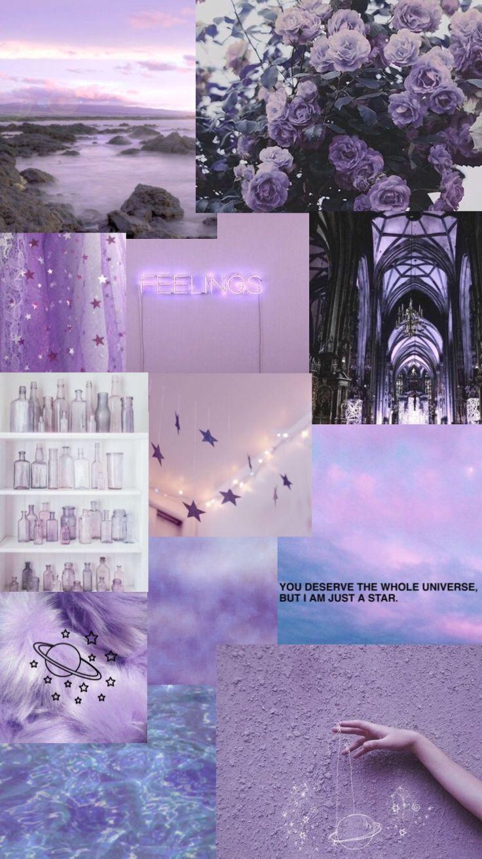 Purple Collage 💜 | Purple Wallpaper Iphone, Iphone