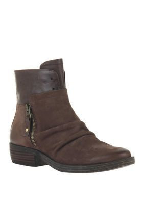 Otbt Yokel Zip Booties - Dark Brown - 6.5M