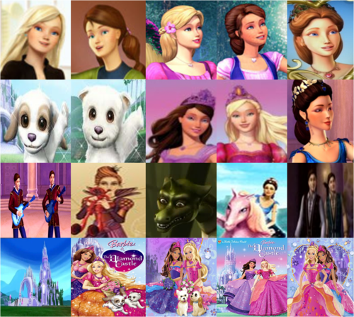 Barbie And The Diamond Castle Characters I Love This Barbie
