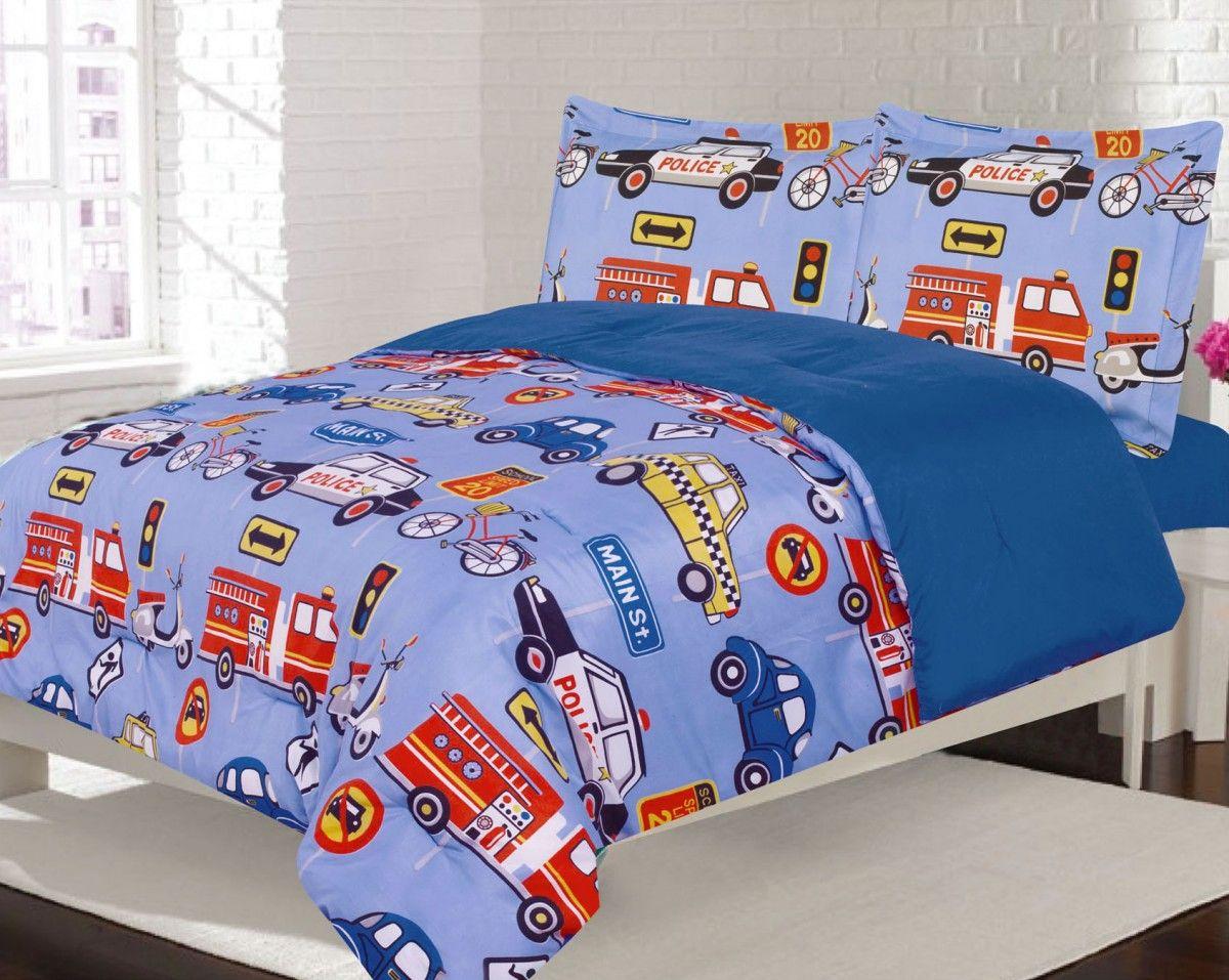 Crest Home Adore Full 3 Pc Bedding Comforter Set, Boys