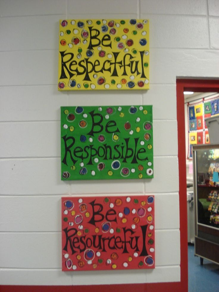 Image Result For Elementary School Decor Painting And