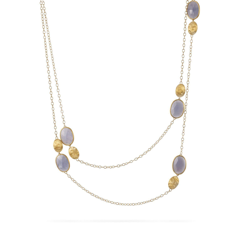 Siviglia Chalcedony Long Necklace