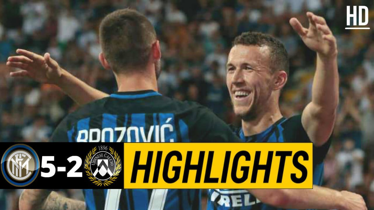 The Football Match Between Inter Milan Vs Udinese After A Very High Class Performance By Inter Milan The Final Resu Italian League Football Match Inter Milan
