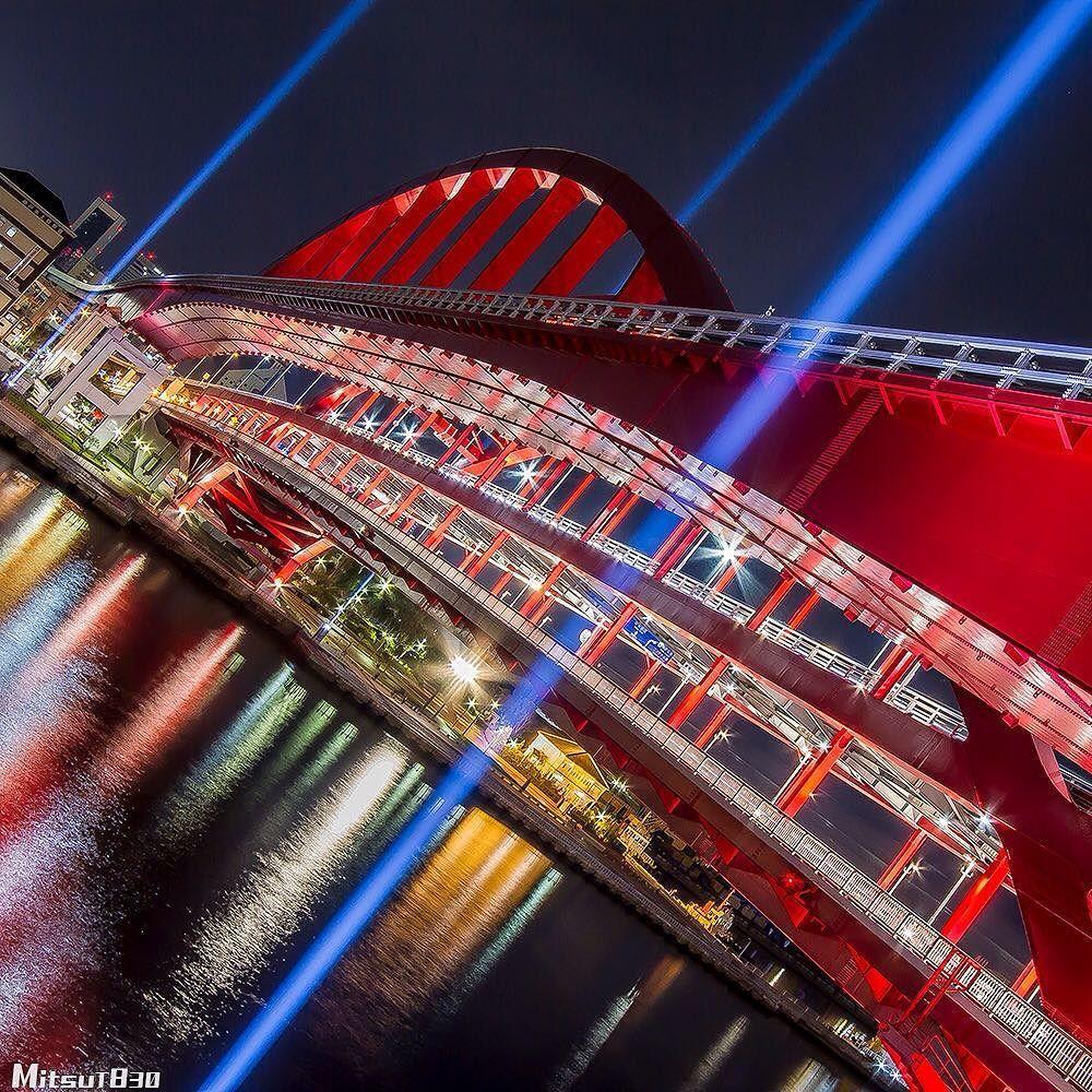 兵庫県 神戸市 ニュースを見るたびに心が痛む出来る事をやろう #ig_shotz_bridges #loves_bridges #bridges_of_our_world by mitsut830