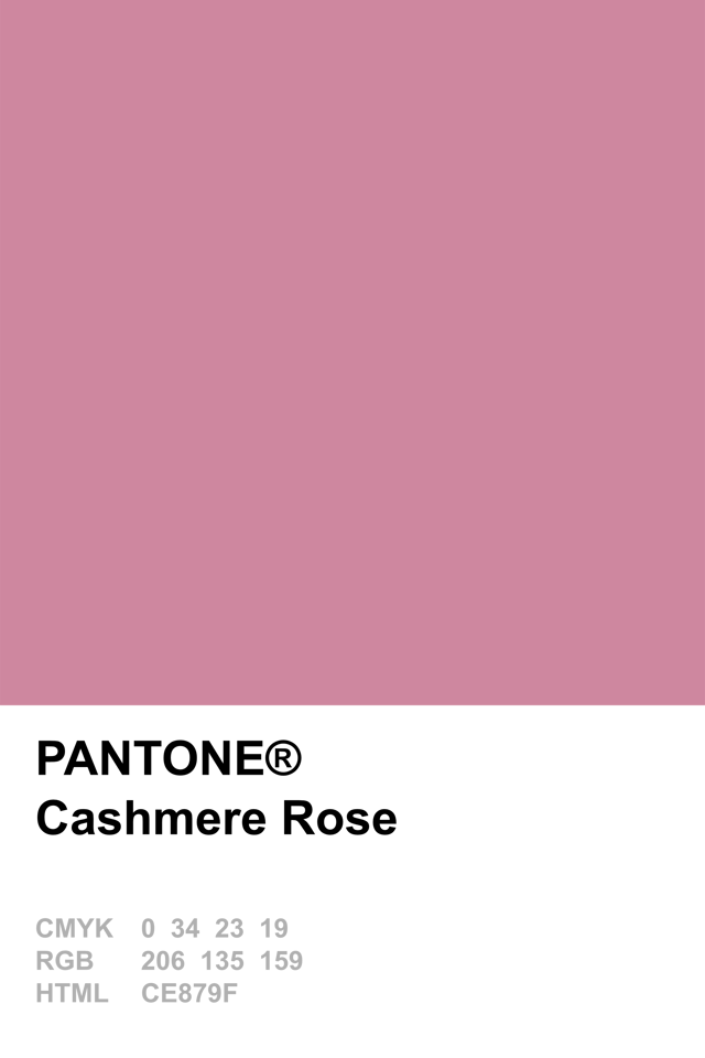pantone 2015 cashmere rose pantone pinterest. Black Bedroom Furniture Sets. Home Design Ideas