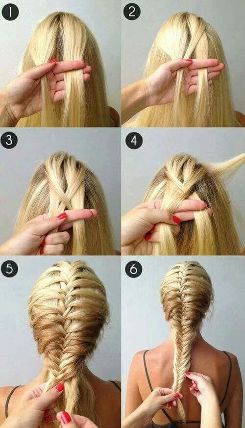 Trenza Espiga Hair Style Pinterest Hair Style Makeup And - Braid diy pinterest