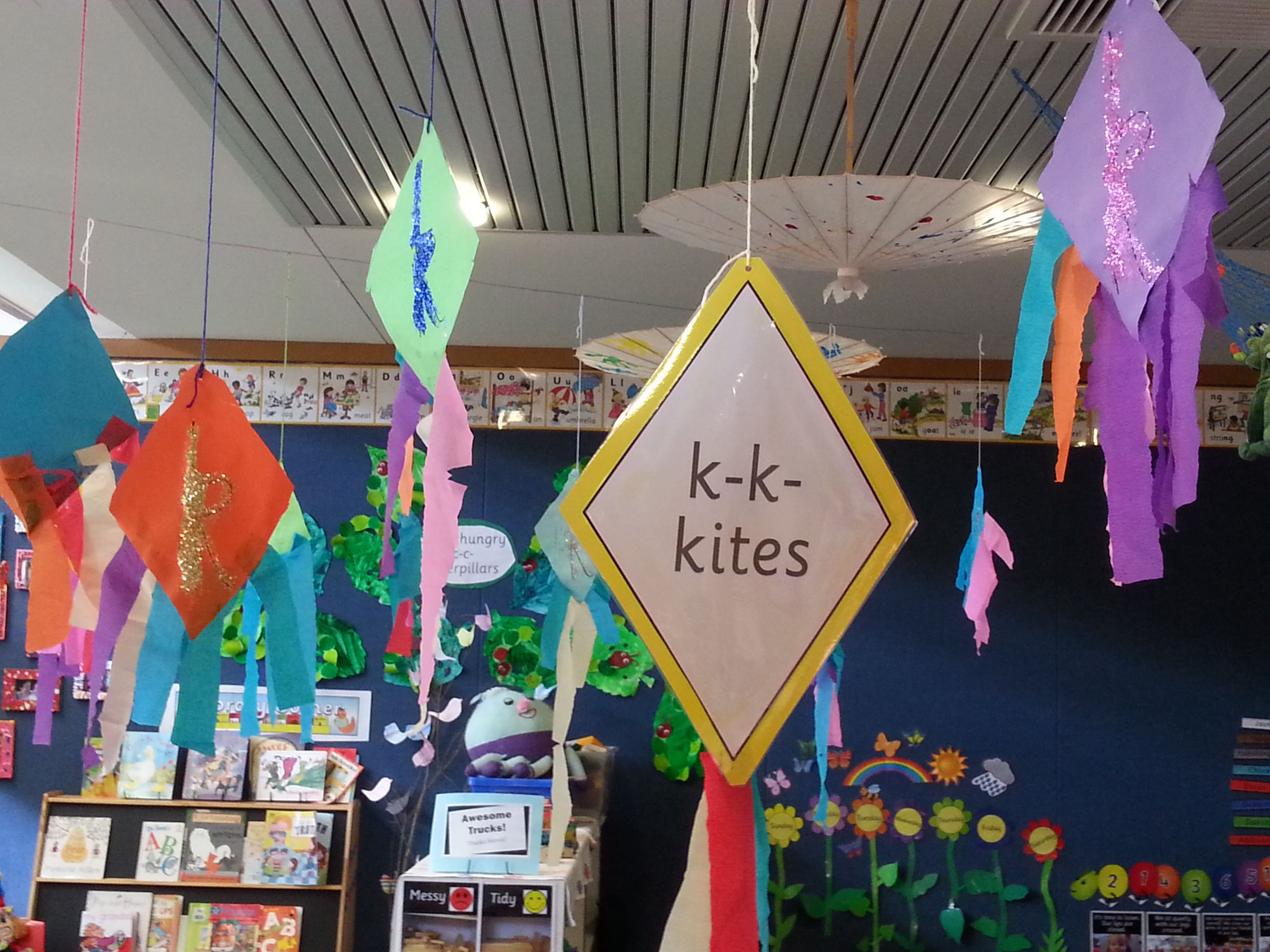 K K Kites Trace Kite Shape Onto Coloured Card Have Child Cut Out Trace A K Onto The Kite