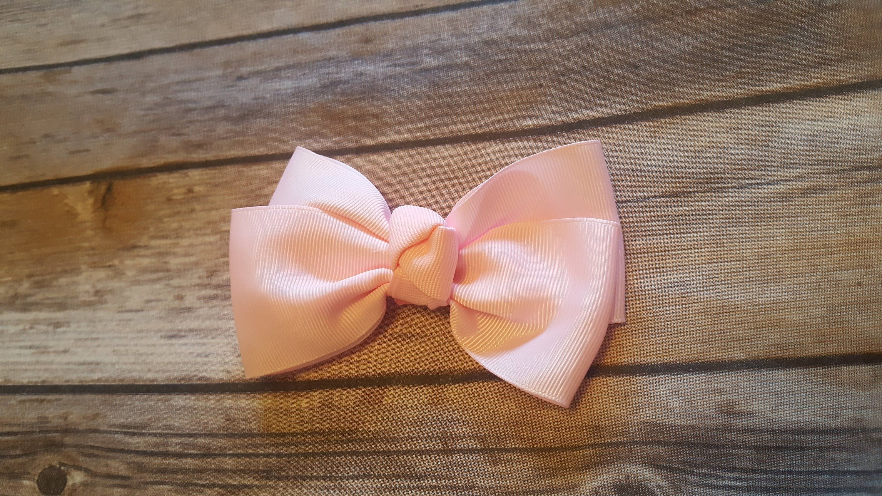Pink hair bow pink headband hair bow for girls girls hair bows