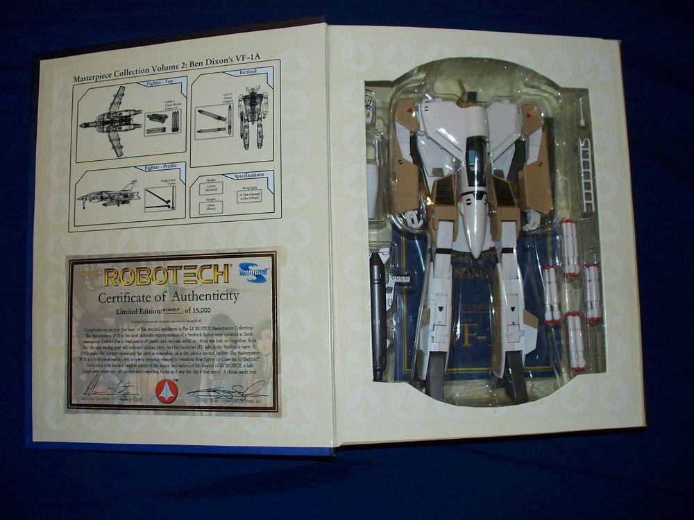 TOYNAMI ROBOTECH BEN DIXON VF-1A VERITECH 1:55 SCALE MASTERPIECE COLLECTION NEW
