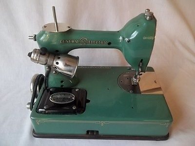 general electric ge sewhandy sewing machine pre singer vintage rh pinterest com Print Sewing Machine Manuals User Manual User Manuals Riccar 510 Sewing Machine
