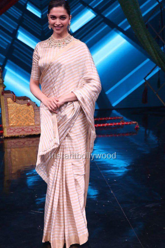 Pin by OneLoveMySelf on Deepika Padukone | Trendy sarees ...