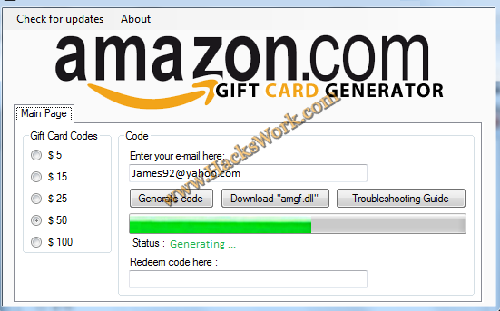 Want Free Blessing Card For Amazon Com Today Is Your Chance Since We Created Amazon Gift Card Gen Gift Card Generator Amazon Gift Card Free Amazon Gift Cards