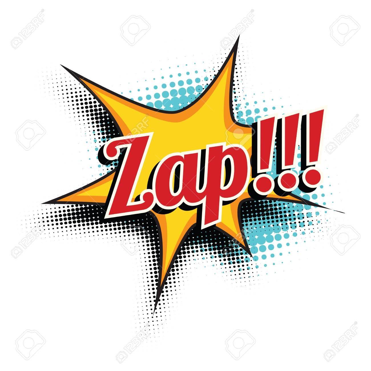 Zap Comic Word Pop Art Retro Vector Illustration Affiliate Word Pop Zap Comic Retro Vector Illustration Graphic Design Logo Modern Graphic Design