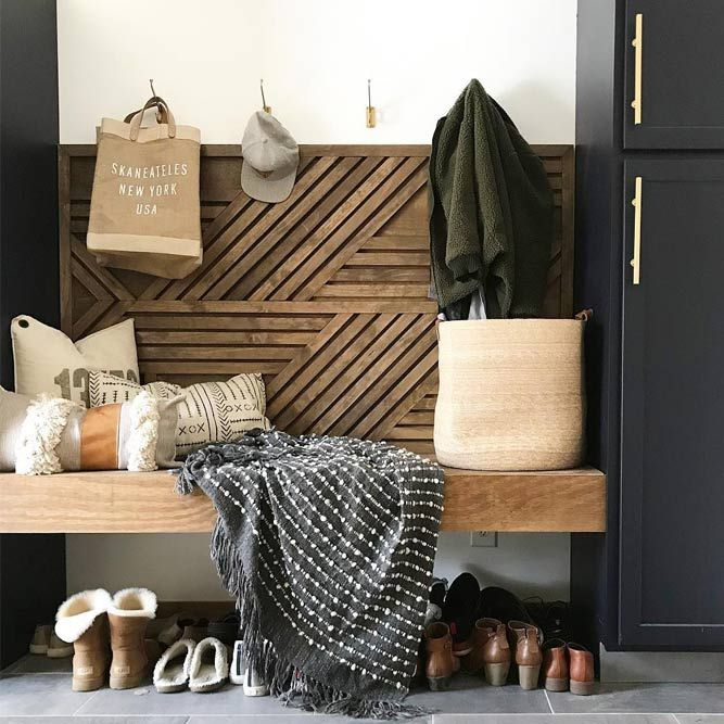 16 Enticing Wall Decorating Ideas For Your Living Room: 21 Perfect Mudroom Ideas To Introduce Into Your Home