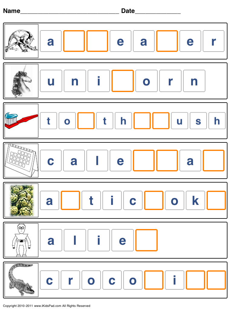 42+ Spelling games and worksheets Popular