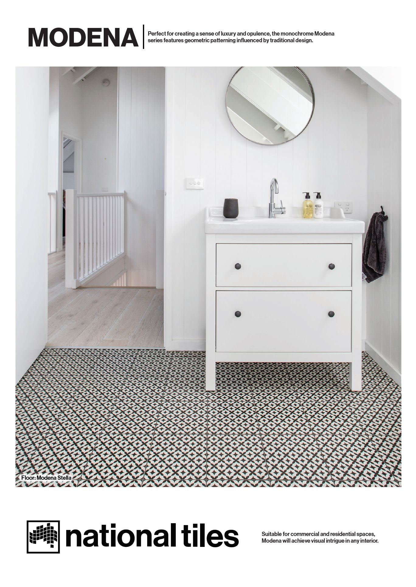 9x9 Room Design: Modena Stella Tiles 9x9 From Portland Direct Tile And
