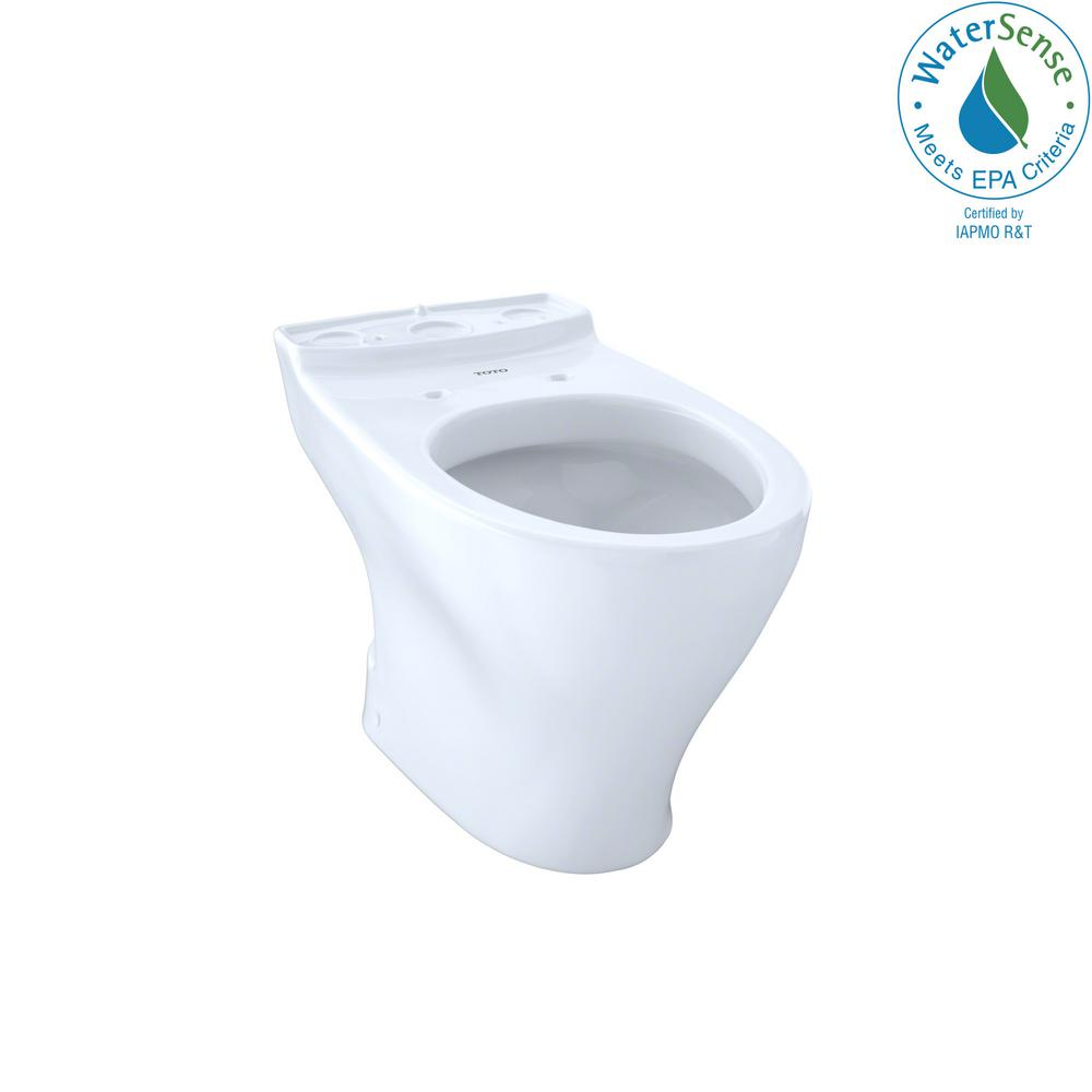 Aquia Elongated Toilet Bowl Only With 10 In Rough In In Cotton White Products Toilet Bowl Toilet Plumbing Fixtures