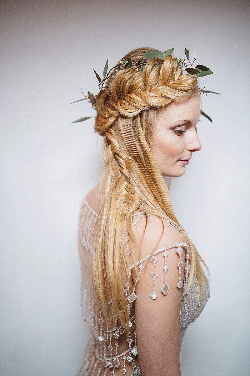 a boho bride styled shoot at yellow arch studios, sheffield | hair
