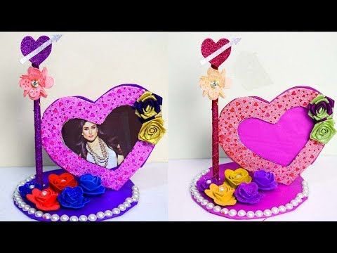 How To Make Heart Shaped Photo Frame