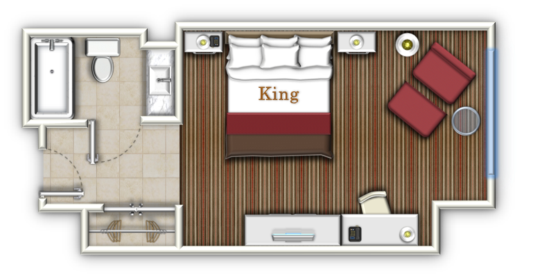 typical hotel room floor plan - Google Search