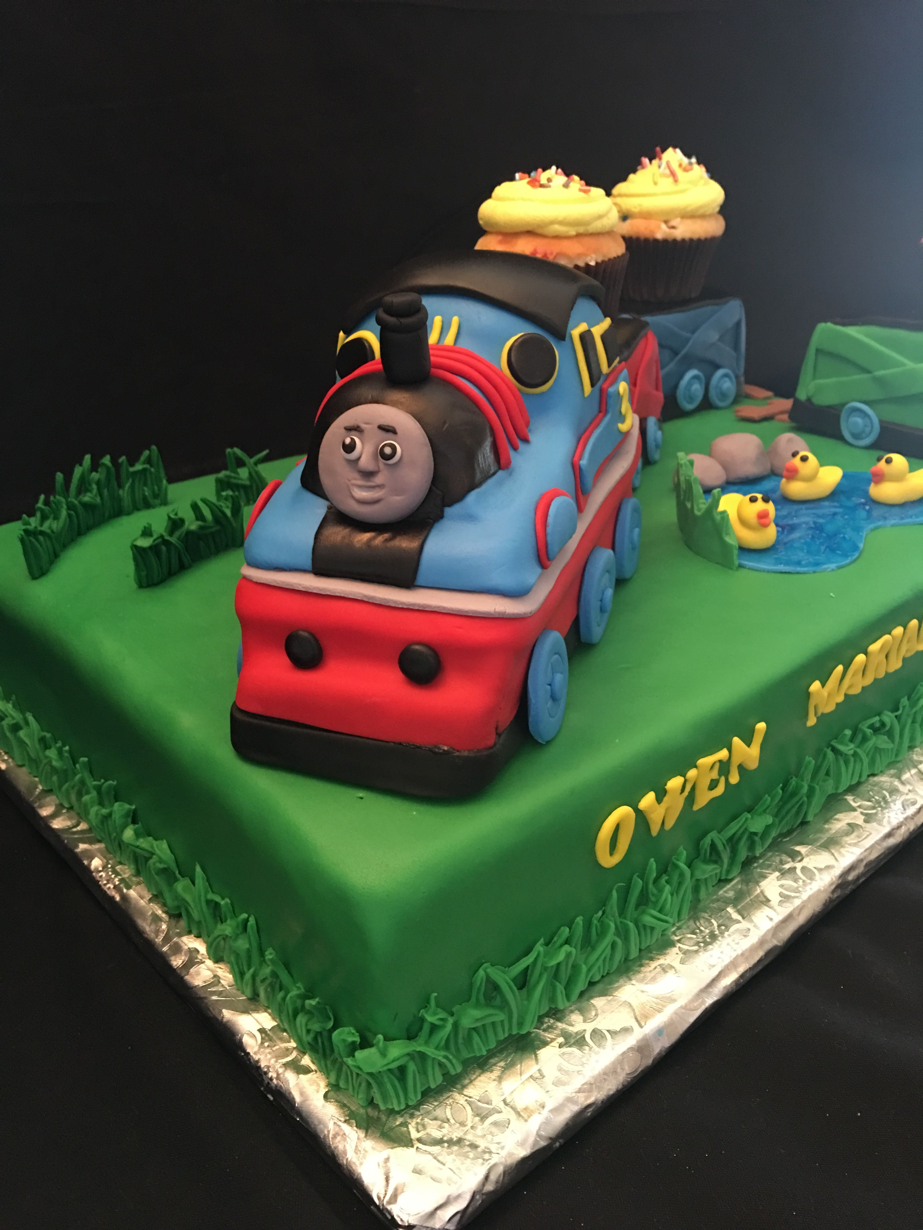 Thomas The Train Cake By Sprinkles And Sweets In Seattle