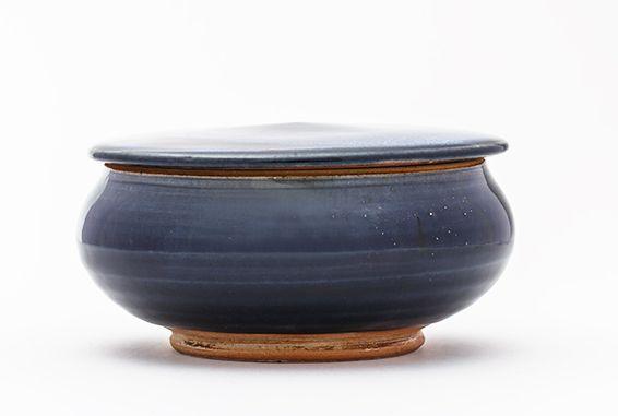 Time & Style Iwami #5 flat top. Transparent Glaze. Medium: φ160×H80 TSSG00304