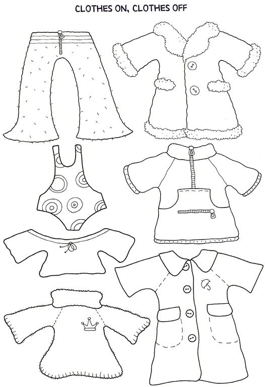 Paper Doll and Clothes  Dolls Activities and School