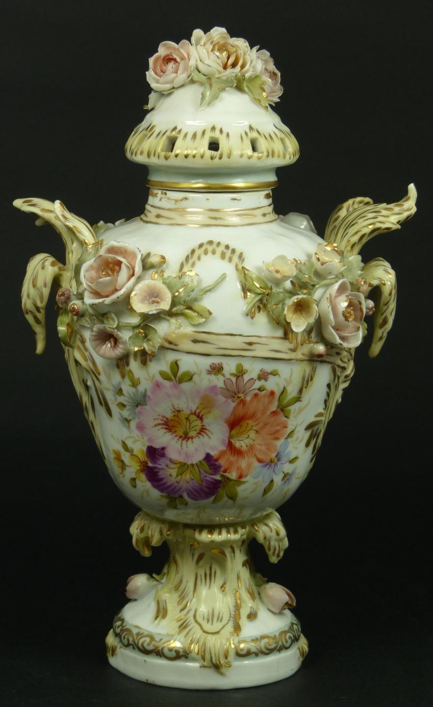 19th century french porcelain lidded floral urn porcelain vintage vases 19th century french porcelain lidded floral urn reviewsmspy