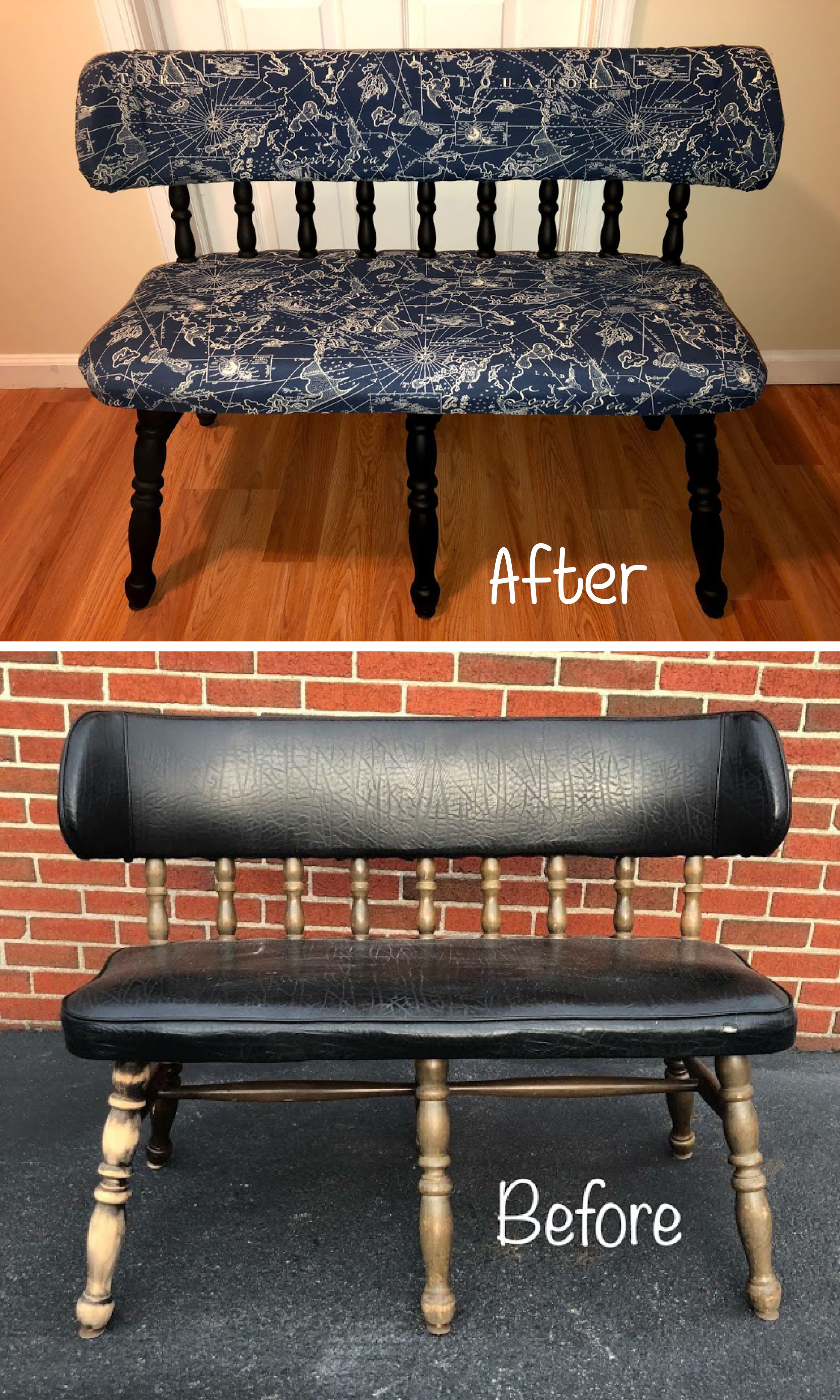Take An Old Bench And Give It Life With