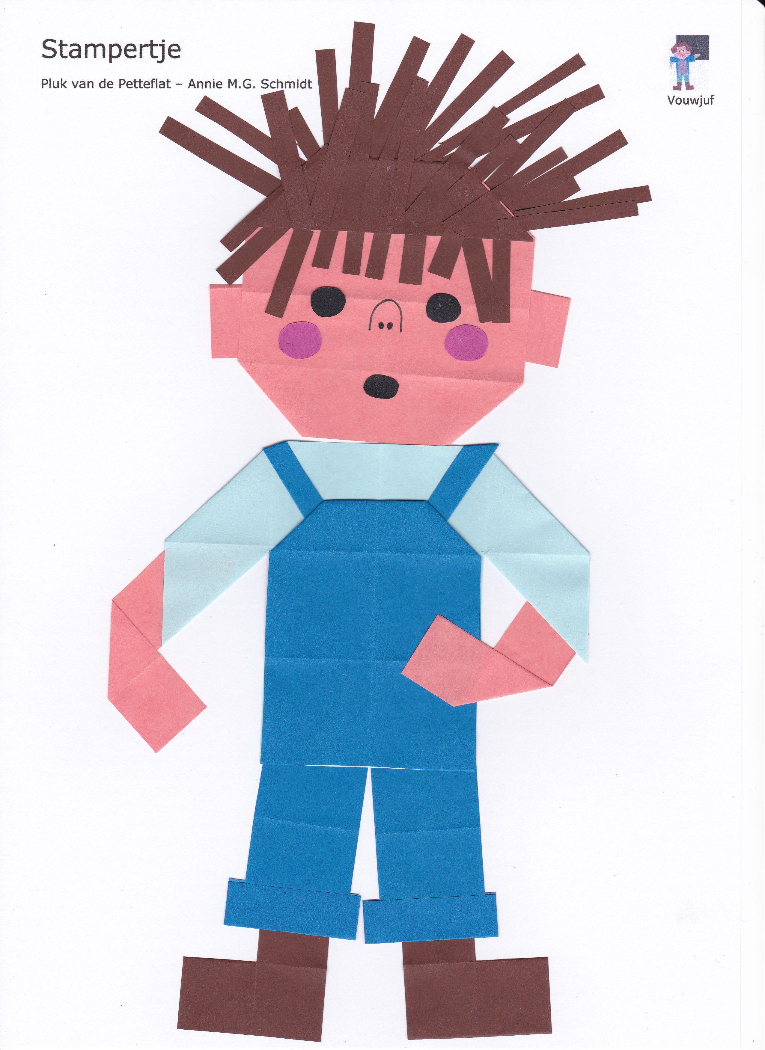 Stampertje 16 Vierkantjes Tekenen Voor Kinderen Thema Handenarbeid