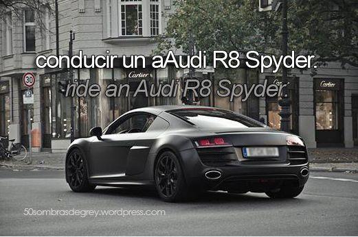 bb76846c6f6 Propositos 50 Sombras Audi R8 Motocicletas, Motos, Coches, Bicicletas, 4  Ruedas,