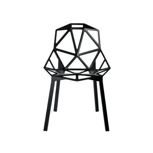 Designer: Konstantin GrcicMaße: L B H Aluminium DruckgussAnwendung: Innen   Und AussenbereichKollektion: Magis OneLIABW: Stühle