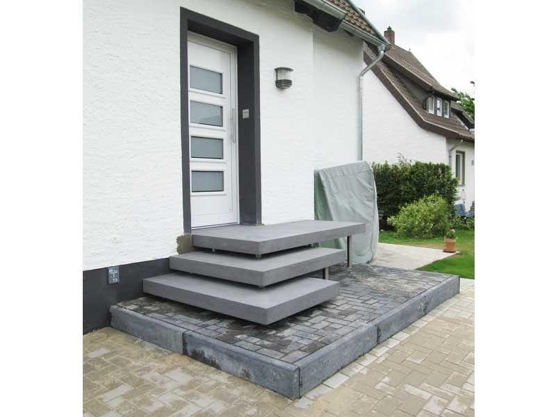 betonpodest aulico betonstufen hauseingang concrete ma geschneidert f r ihr zuhause. Black Bedroom Furniture Sets. Home Design Ideas