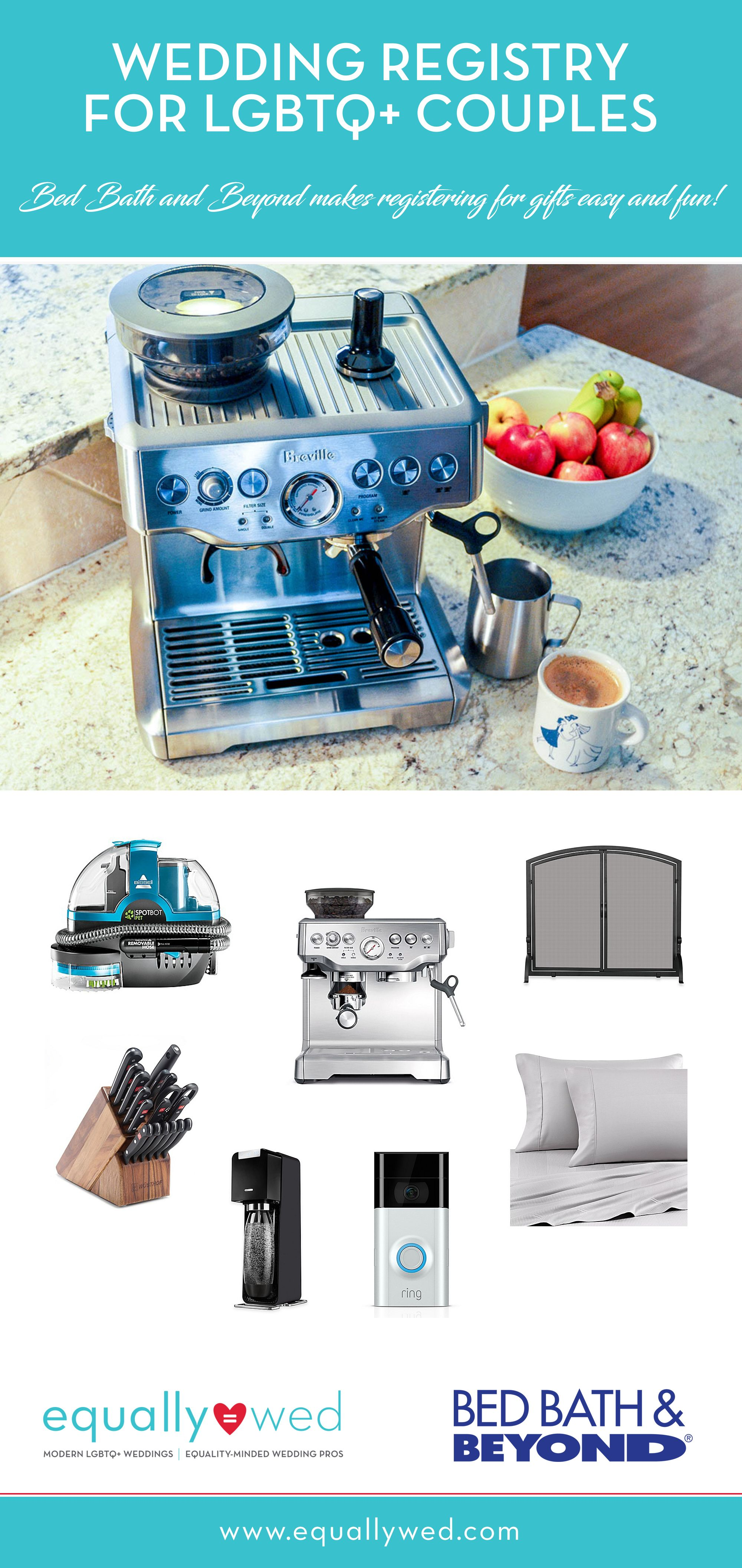 Our wedding registry with Bed Bath & Beyond Bed & bath