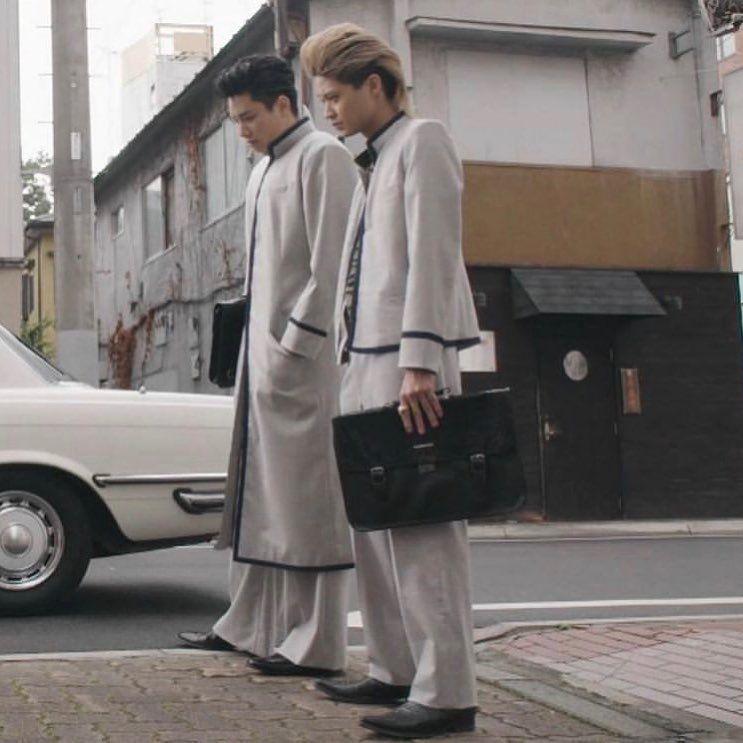 画像に含まれている可能性があるもの 2人 立ってる 複数の人 鈴木伸之 クリーミィマミ 天使 コスプレ