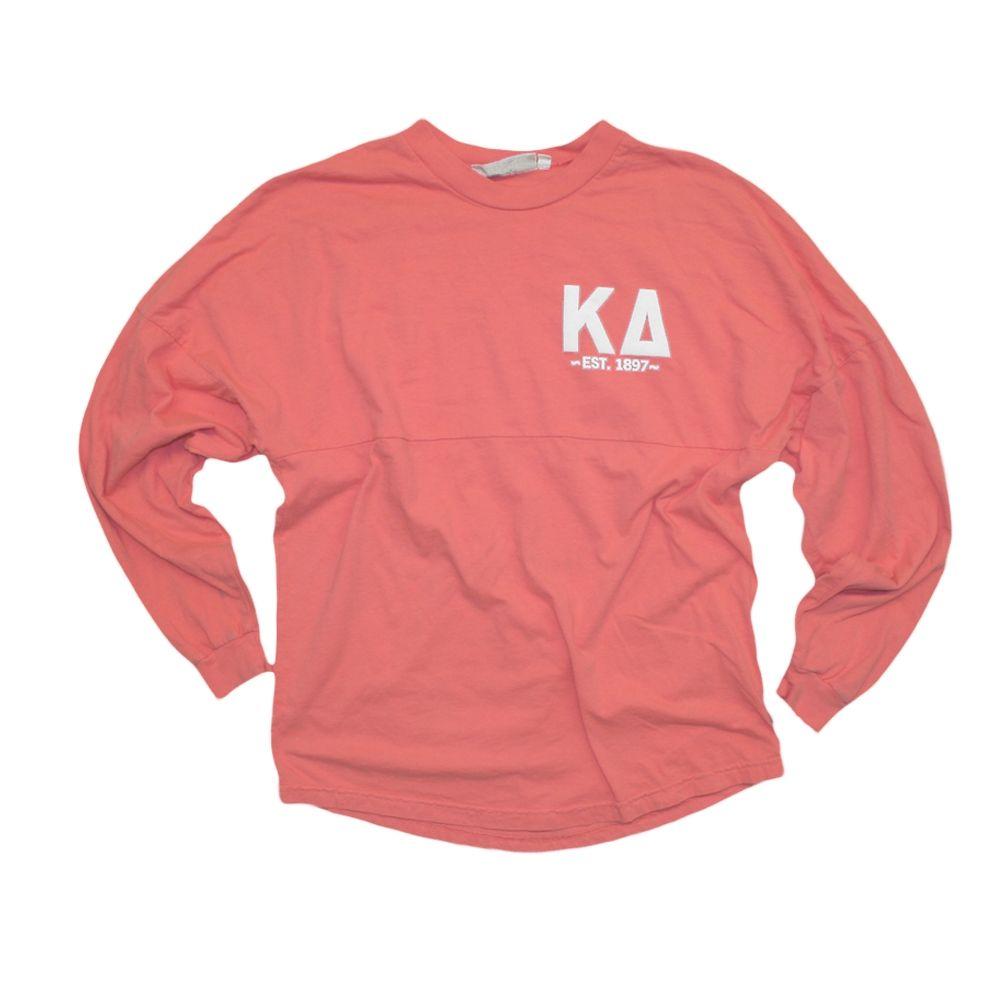 Kappa Delta Boutique: Coral Coastal Jersey - size small
