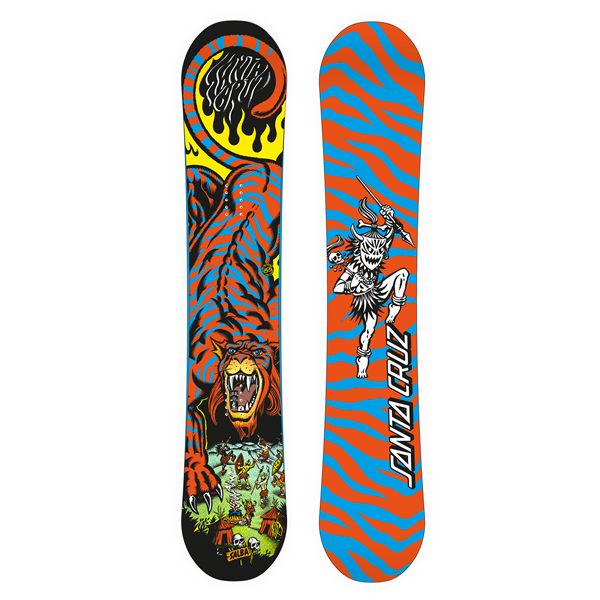Snowboard Santa Cruz modelo Salba Tiger 149.A pro level
