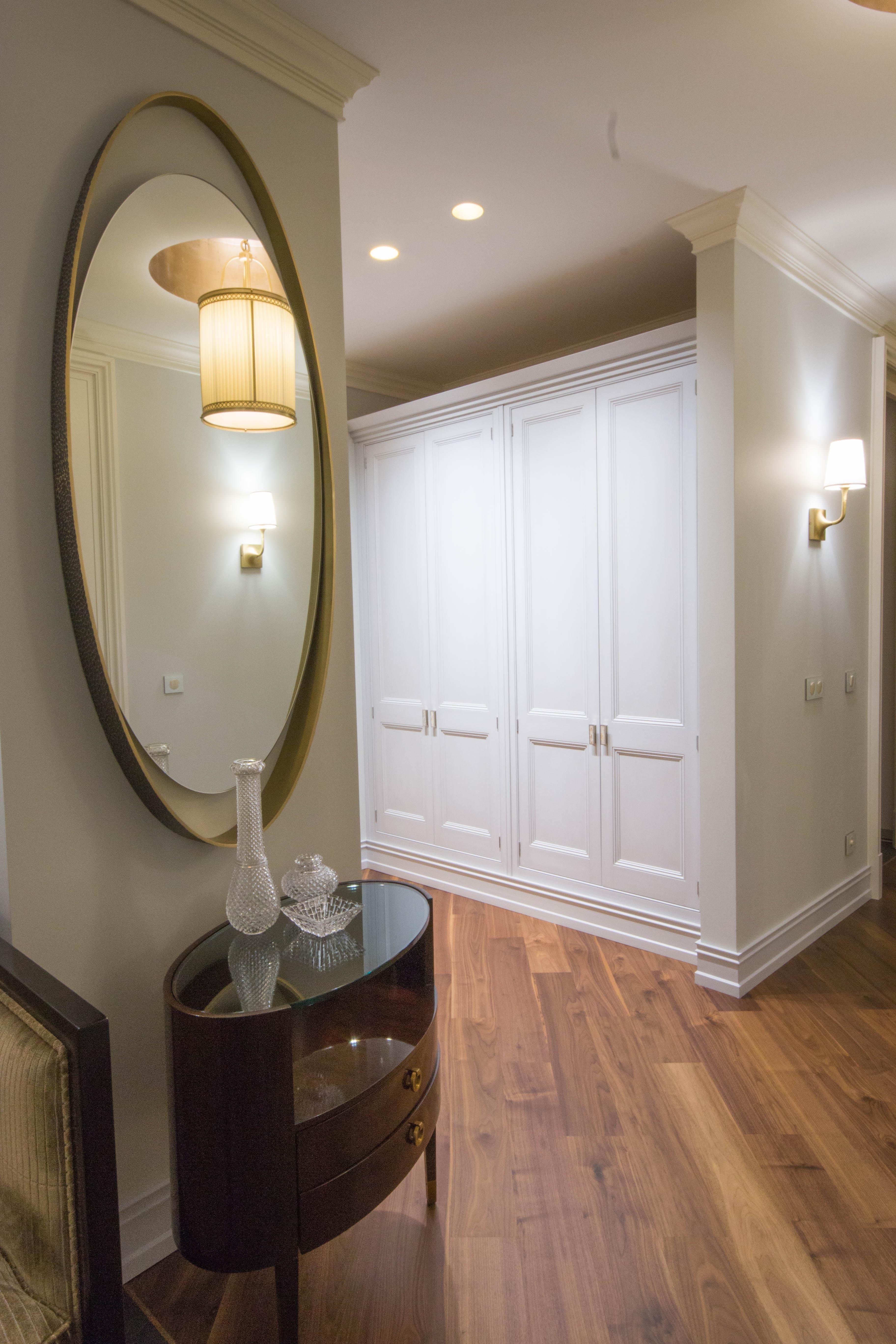 Edwardian hallway lighting  Проект квартиры Холл коридор прихожая Срок выполнения дизайн