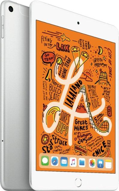 Apple 7 9 Inch Ipad Mini Latest Model 5th Generation With Wi Fi Cellular 64gb At T Silver Muxg2ll A Best Buy Apple Ipad Ipad Mini Apple Ipad Mini