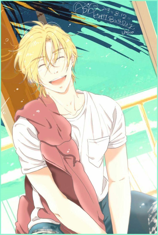 He deserves to be happy   Ash Lynx   Pinterest   Anime ...