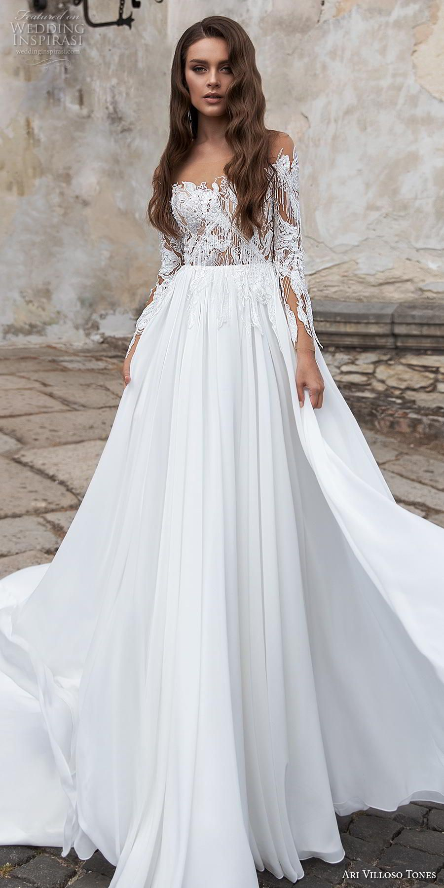 "Ari Villoso Tones 2020 Wedding Dresses — ""Allure"" Bridal"