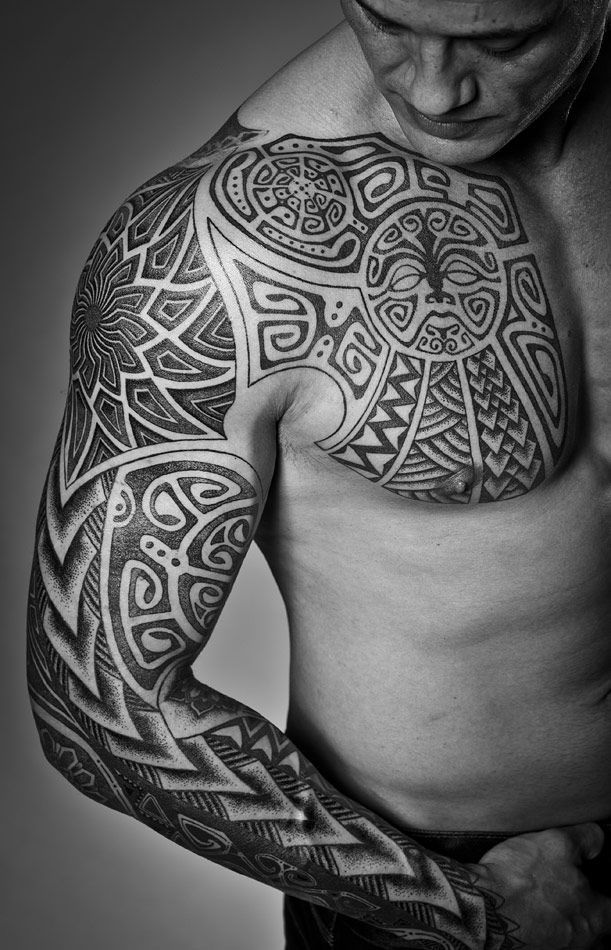 Norse Chest Tattoo: Meatshop Tattoo Copenhagen