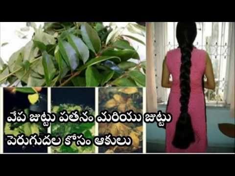 Neem leaves for Hair fall, Hair growth in telugu | Telugu